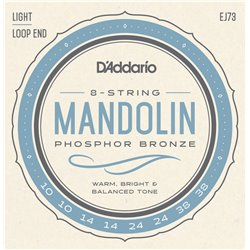 Daddario Strängset Mandolin Phosphor Bronze 010-038 Light EJ73