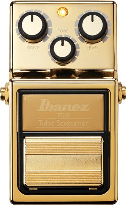 Ibanez Tube Screamer Gold Limited Edition TS9GOLD