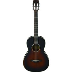 Ibanez Westerngitarr Parlor, Thermo Aged AVN11-ABS